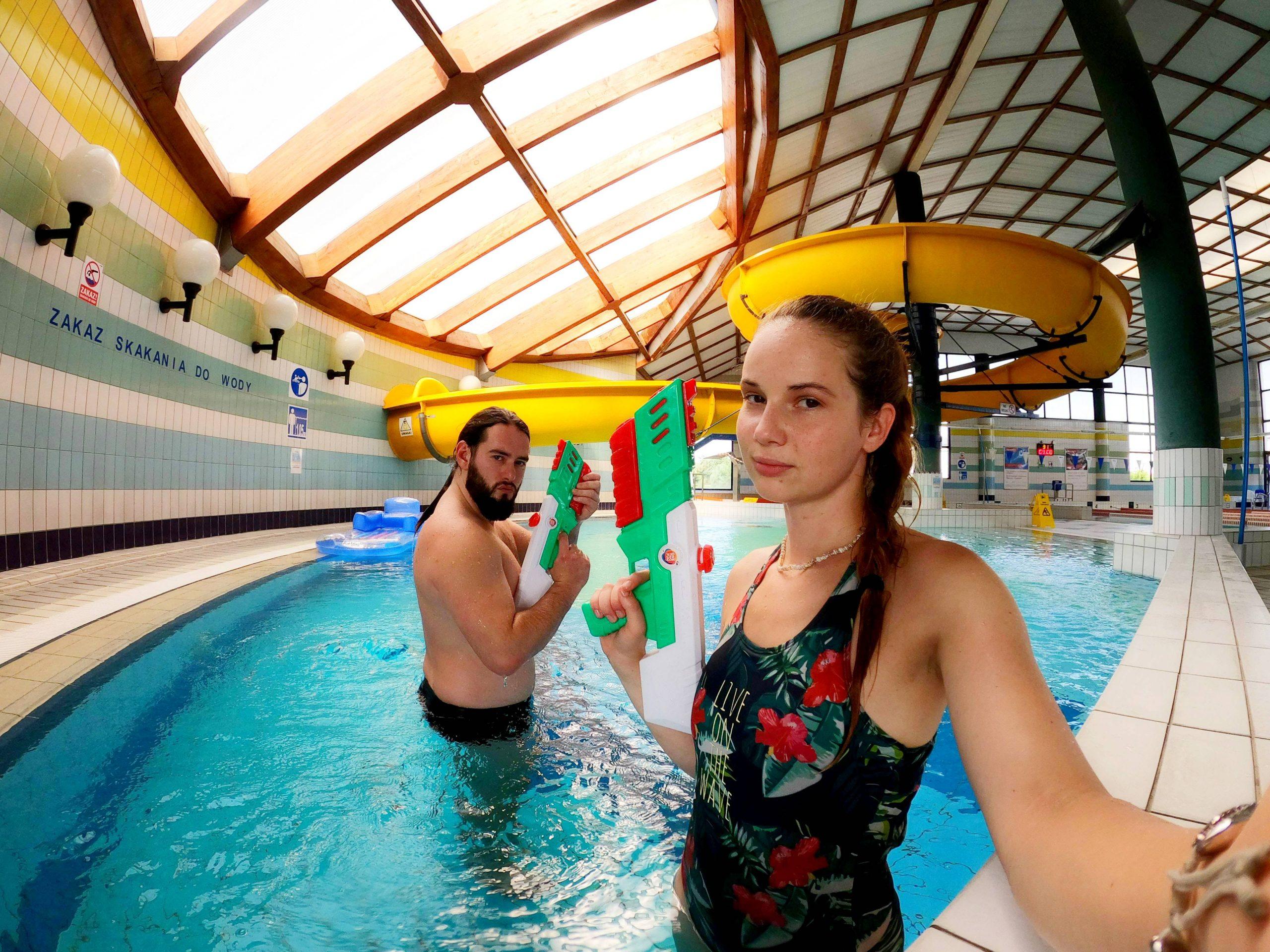 animatorzy zabawa na basenie